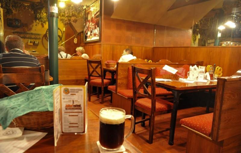 Пивная Новоместский пивовар - зал