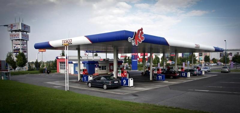 Цена на бензин в Чехии 2