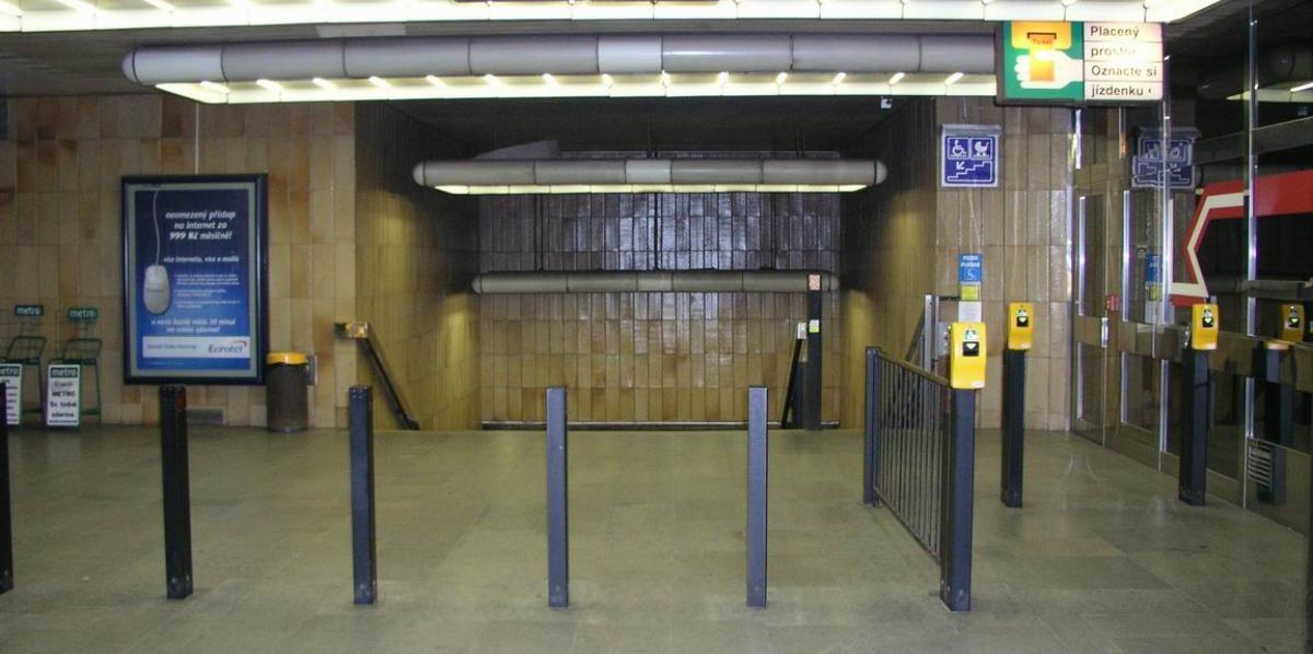 стоит билет на метро Праги