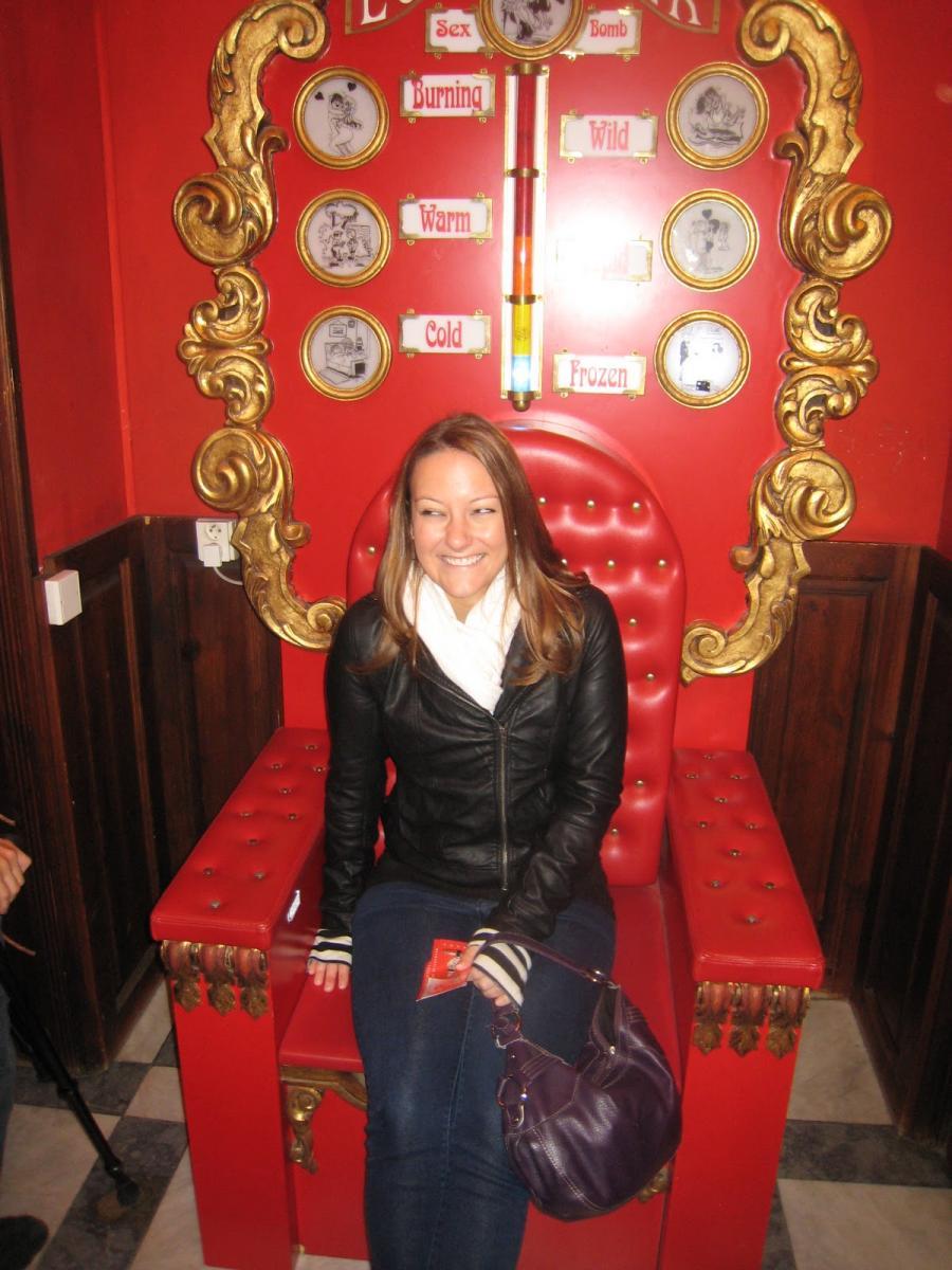 Музей Секс Машин - кресло