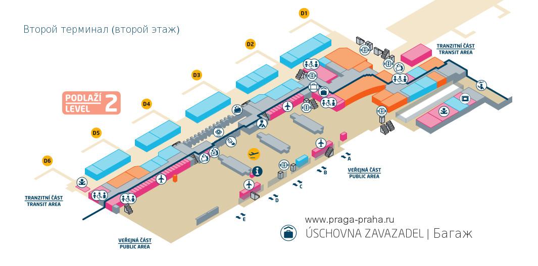 Схема терминала 1 прага