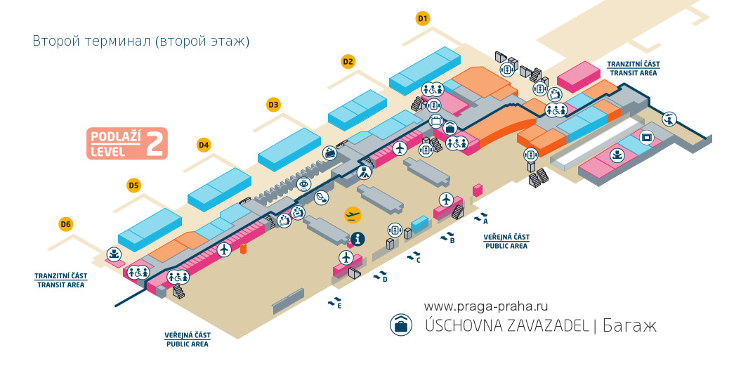 Прага вокзал схема вокзала