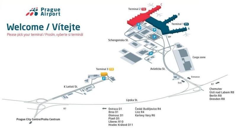 Интерактивная карта аэропорта
