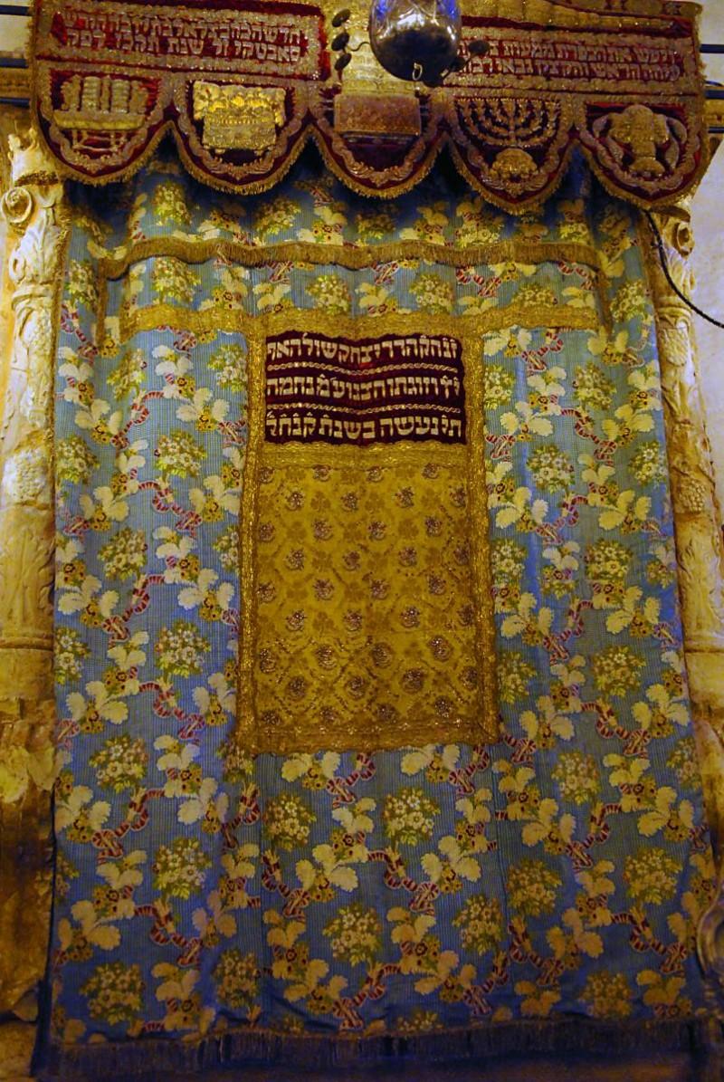 Староновая синагога в Праге - внутри 2