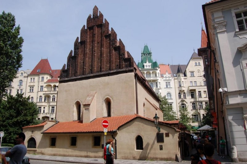 Староновая синагога в Праге
