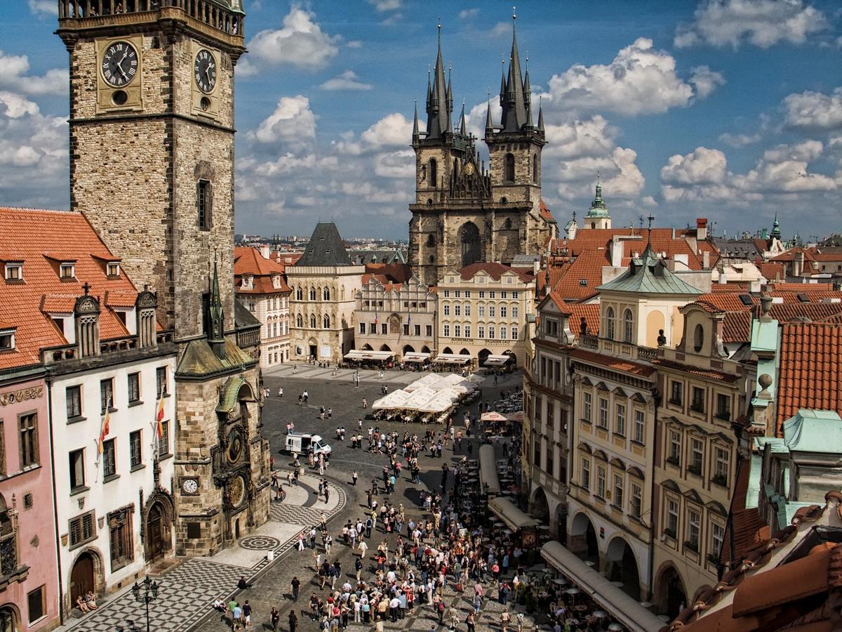 фото вацлавская площадь в праге