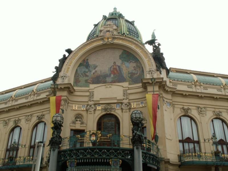Общественный дом в Праге 2