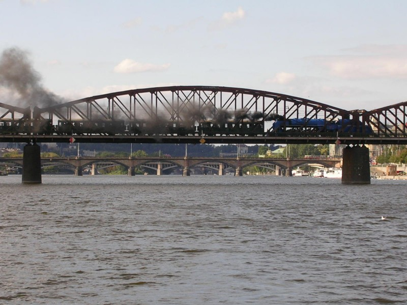 Вышеградский железнодорожный мост 2
