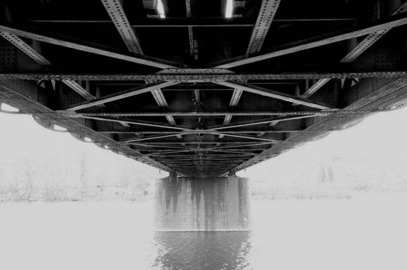 Вышеградский железнодорожный мост 5