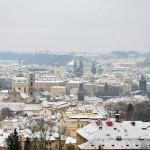 Праге в январе