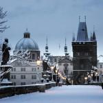 Праге в январе 2