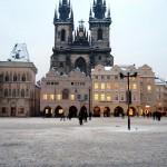 Праге в январе 5