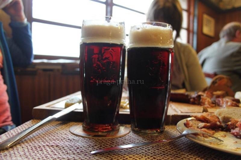 Пивная У Козла - U Kozla - тёмное пиво