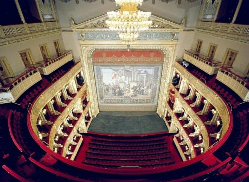 Национальный театр Праги - сверху