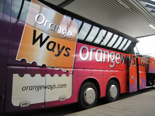 Из Берлина в Прагу на автобусе