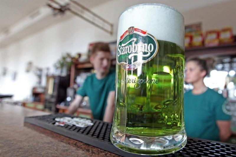 Starobrno зелёное пиво