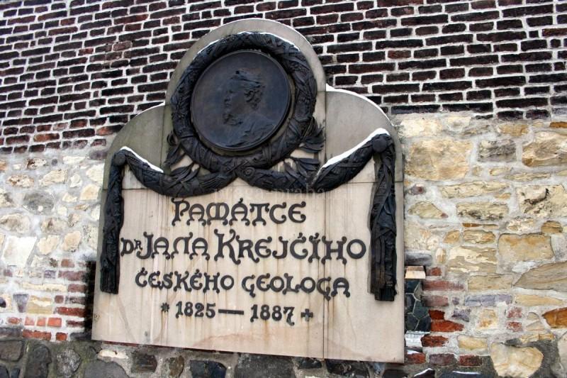 Мемориальная доска Яну Крейчи 1