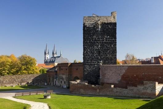 Замок Хеб башня