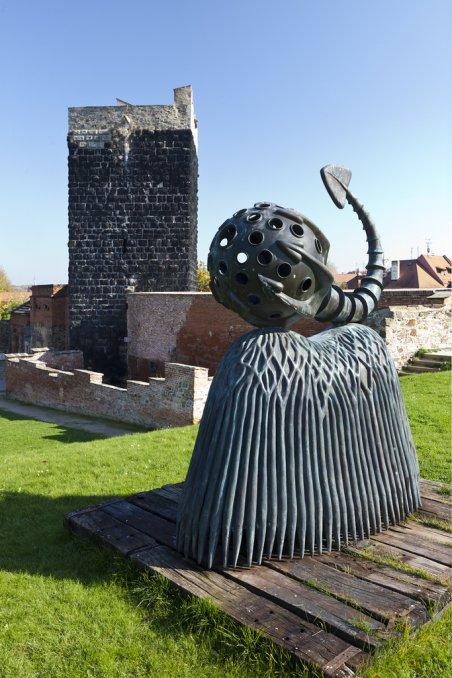 Замок Хеб скульптура