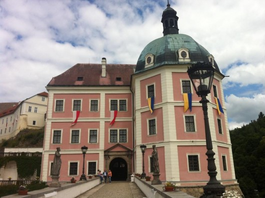 Замок Бечов-над-Теплоу - вход