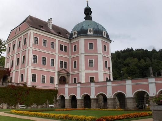 Замок Бечов-над-Теплоу - мост
