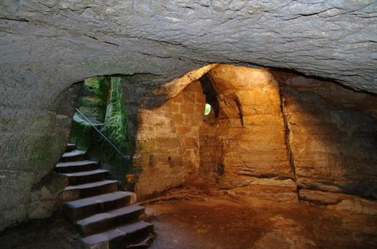 Замок Вальдштейн - внутри