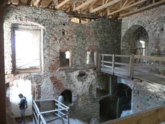 Замок Горни Град - внутри