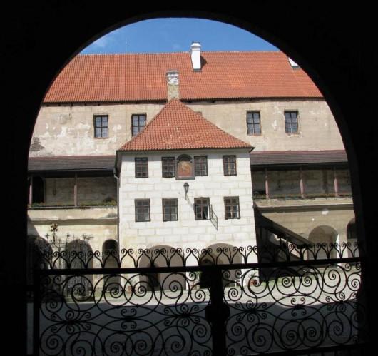 Замок Горшовский Тын - ворота