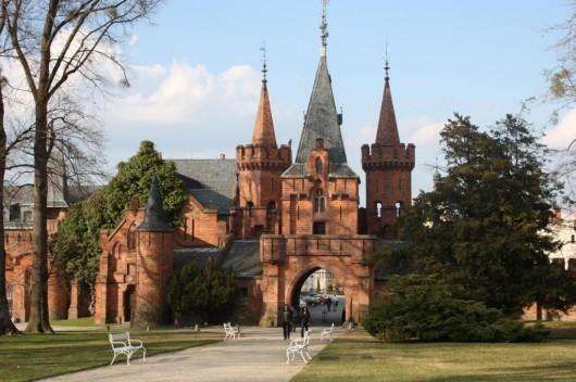 Замок Градец-над-Моравицы - вход
