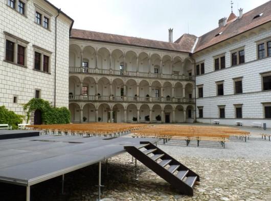Замок Йиндржихув Градец - внутри