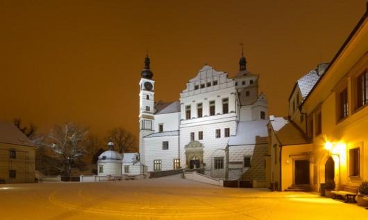 Замок Пардубице - зимой