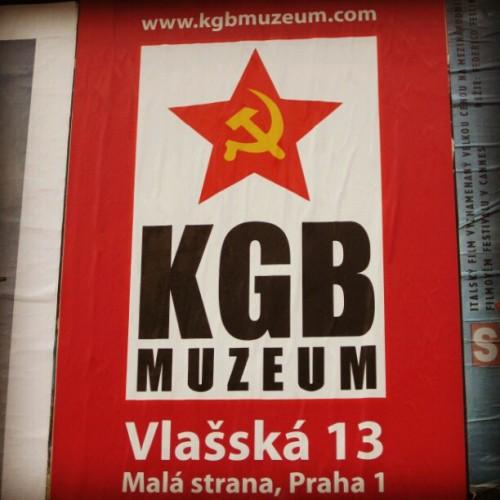 Музей КГБ в Праге - плакат