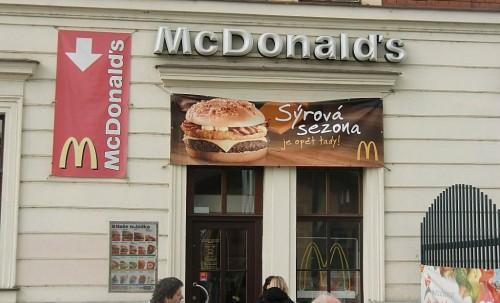 McDonald в Праге