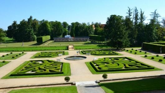 Замок Яромержице-над-Рокитной - сад
