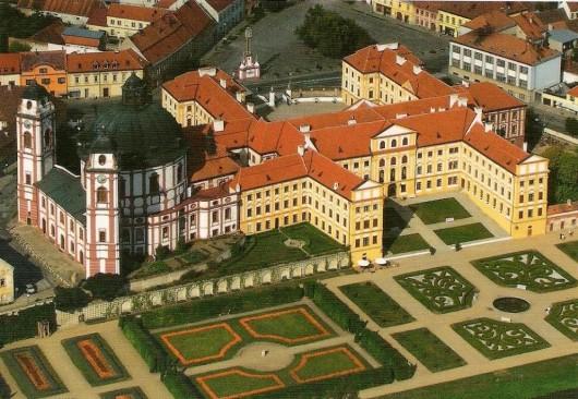 Замок Яромержице-над-Рокитной - сверху