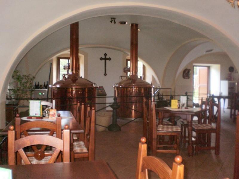 Замок Хише - пивоварня