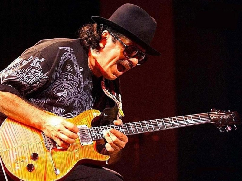 Концерт Santana в Праге