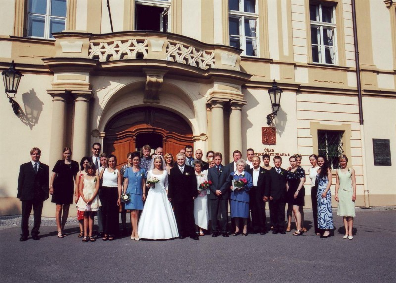 Либенский замок - свадьба