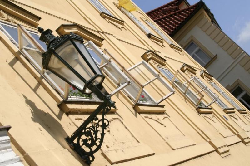 Майские праздники в Праге - фонарь