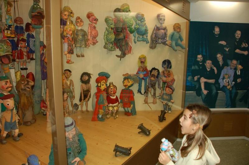 Театр Спейбла и Гурвинека - куклы