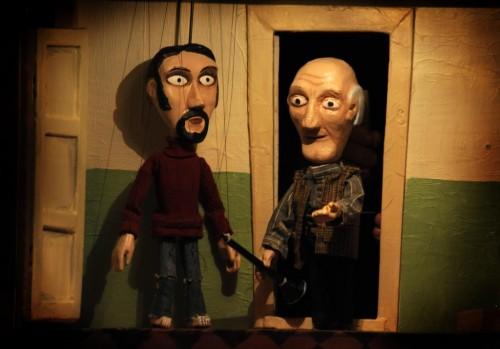 Театр Minor в Праге - куклы