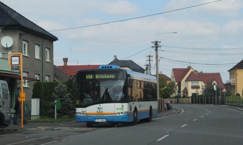 Автобус в Остраве