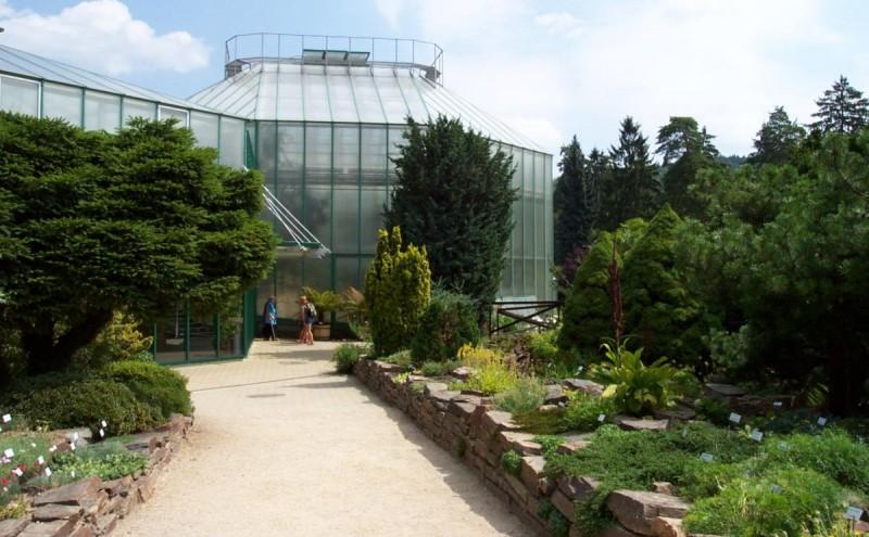 Ботанический сад Либерца