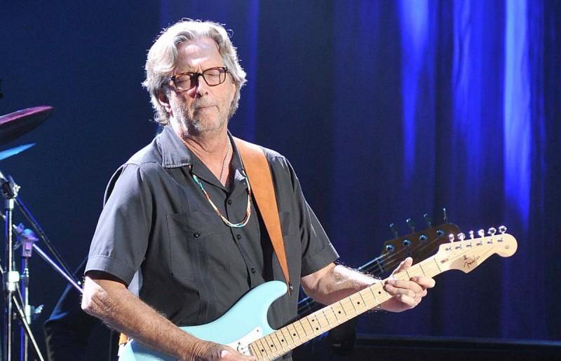 Концерт Eric Clapton в Праге