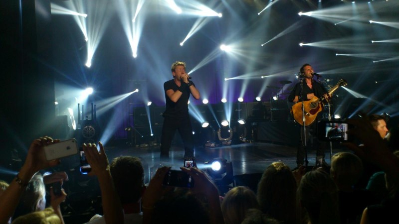 Концерт Nickelback в Праге