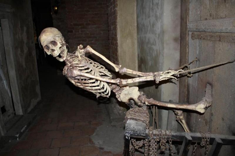 Музей призраков - скелет