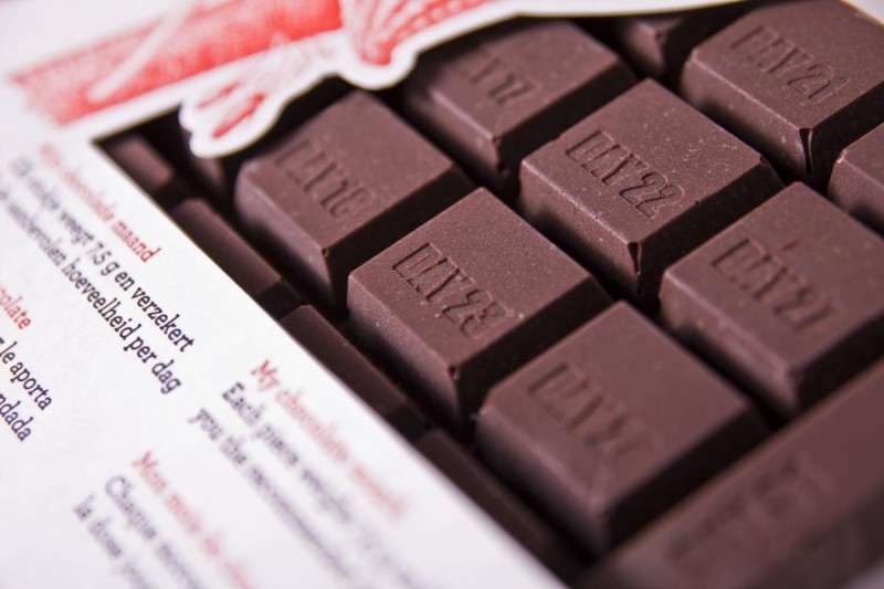 Музей шоколада - кубики