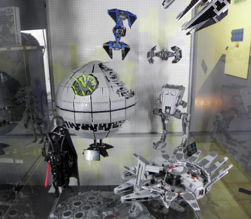 Музей Lego - Звёздные войны