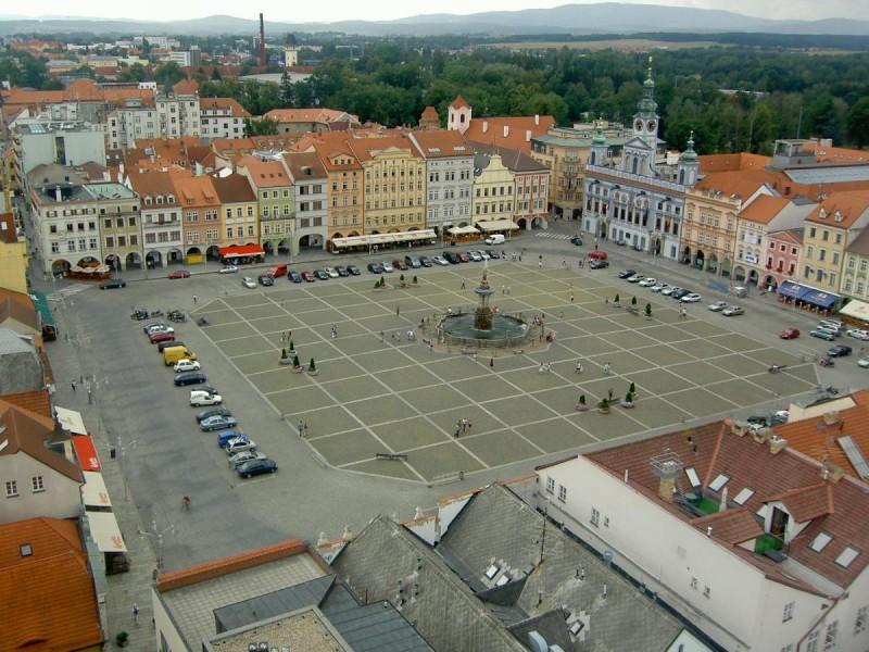 Площадь Пржемысла Отокара II