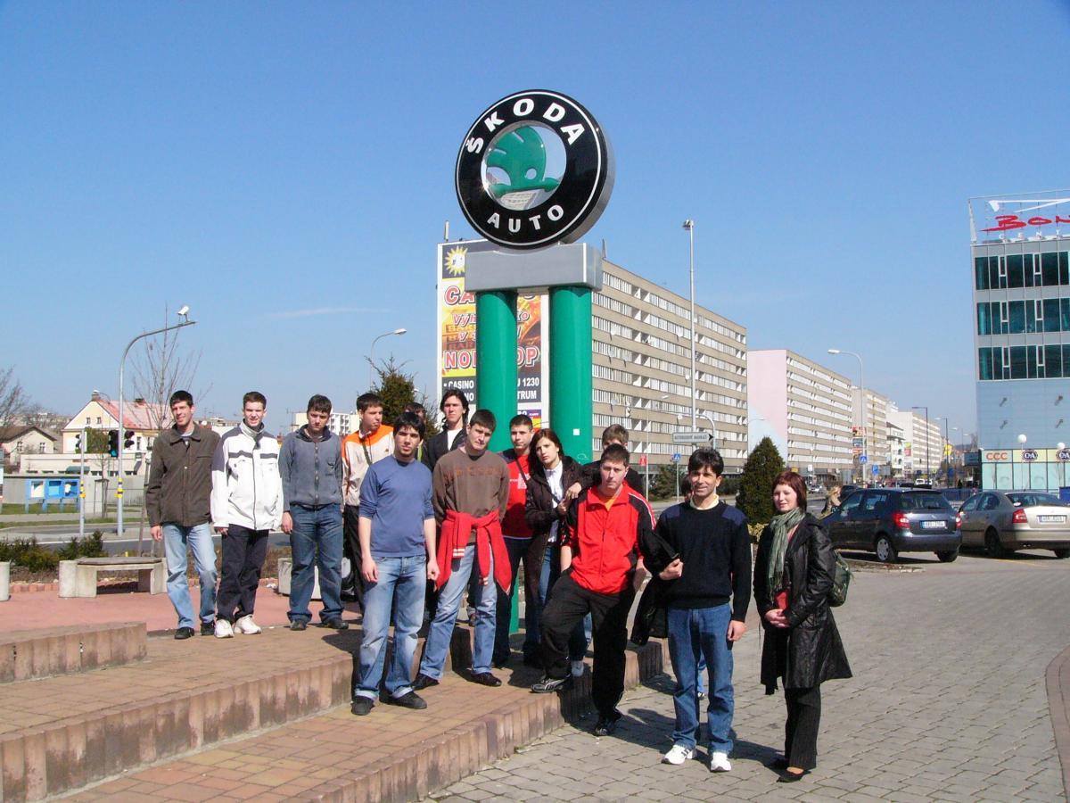 млада болеслав экскурсия на завод skoda